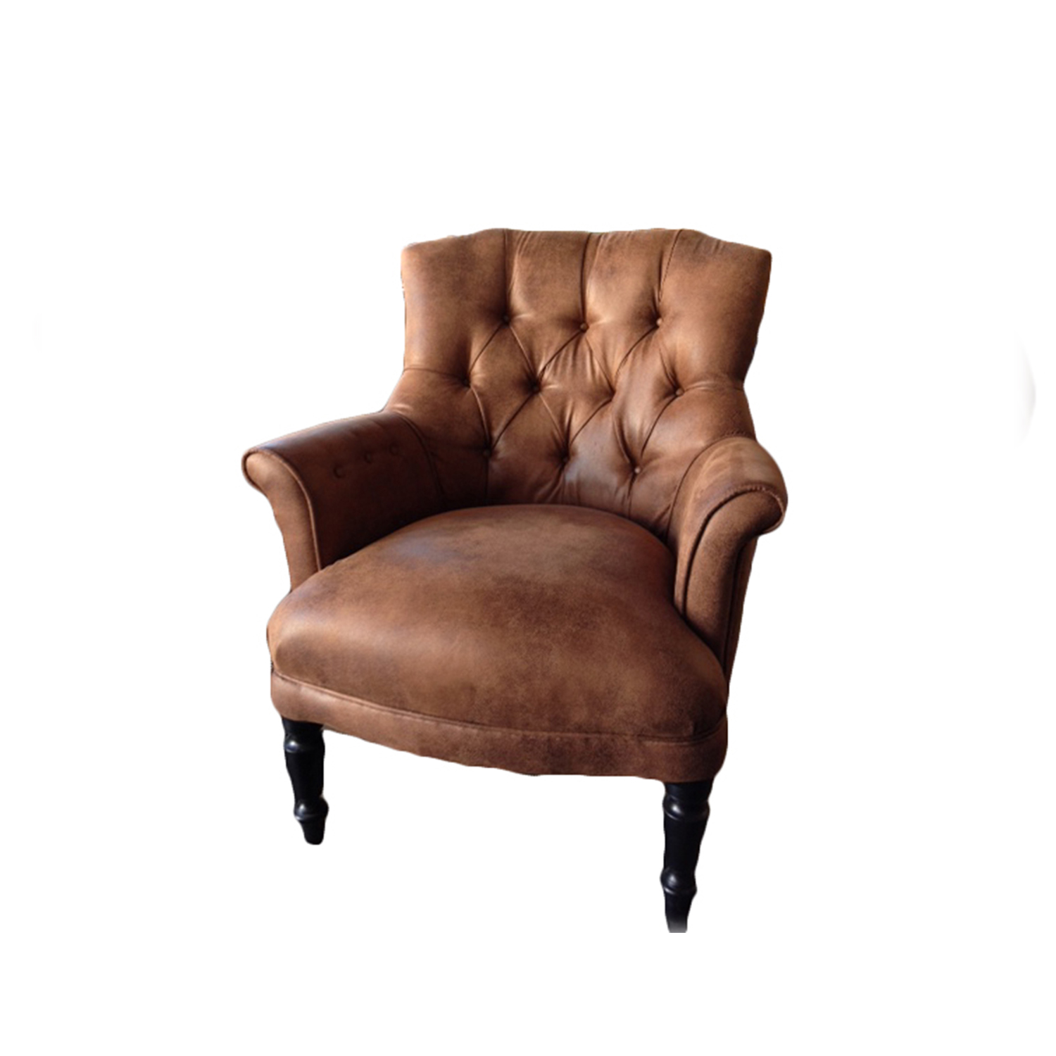 Unique_design_wooden_faux_leather_single_sofa Industry Home Furniture  Tufted Faux Leather Armchair Wonderful