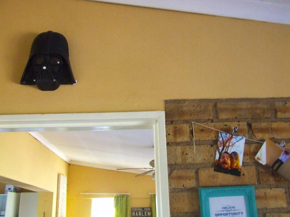 Darth Vader home decor