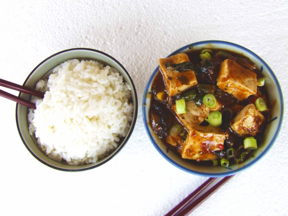 Anime Recipes – Vegan Mapo Tofu |