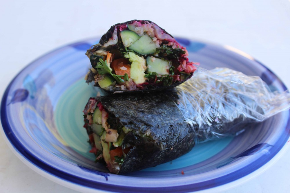 Healthy nori wrap
