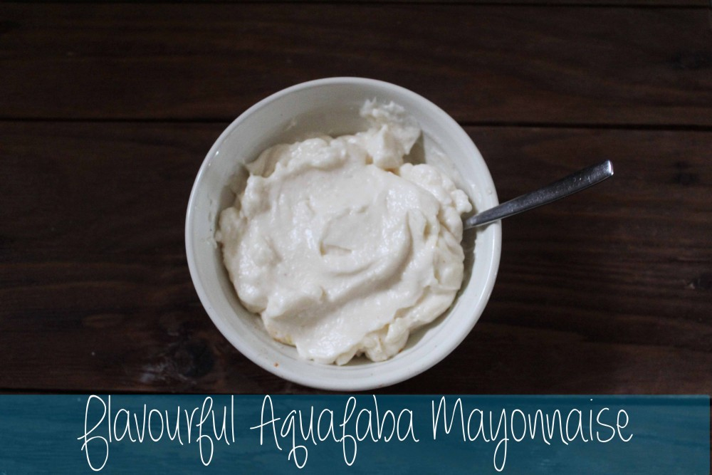 Aquafaba  Mayonnaise